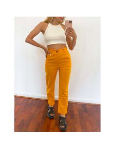 Pantalón lino Cuckoo Mango